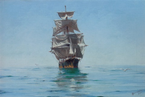 thomas-jacques-somerscales-becalmed