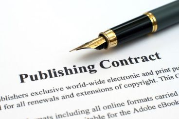 publishing contract childress