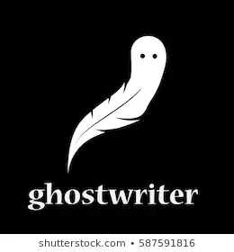 vector-sign-ghostwriter-inkwell-pen-260nw-587591816