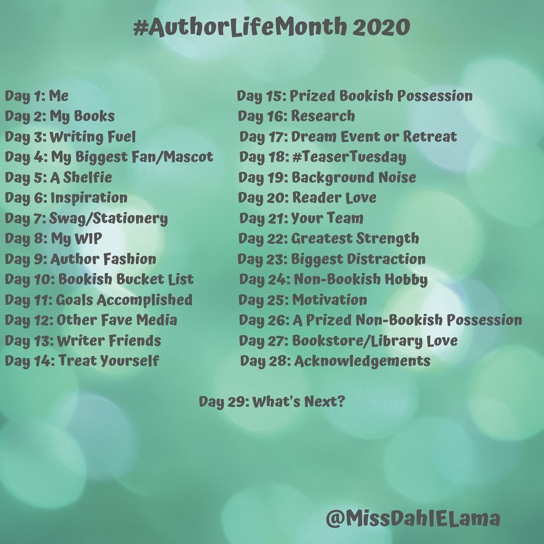 Author Life Month